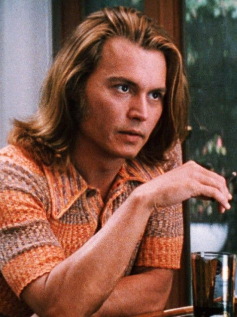 "Blow  His blonde wavy hair may say ""California surfer,"" but his intense eyes say ""troubled drug-dealer."" Depp got audiences high off of his performance as cocaine dealer George Jung in the 2001 hit Blow."