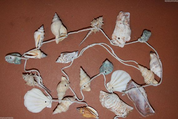 3 pcs 48 inch seashell garland four foot seashell garland