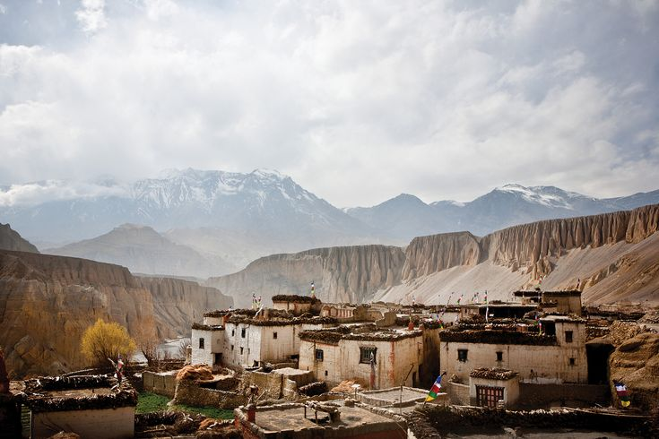 Mustang, or the former Kingdom of Lo - Nepal. This place looks incredible.