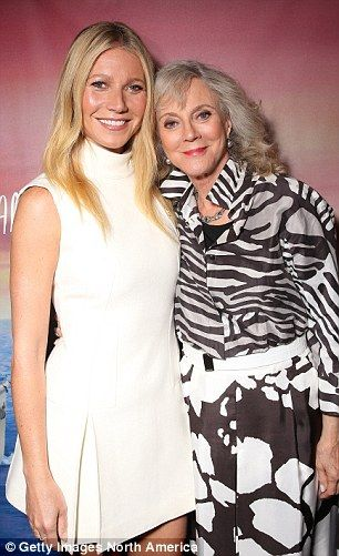 Gwyneth Paltrow's mother, Blythe Danner, told her to 'dress like a lady'...