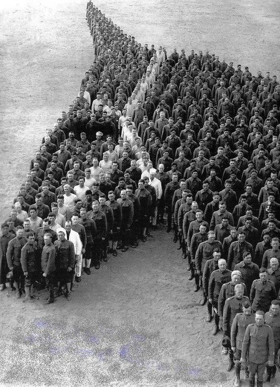 Truly Awesome! Done during WW1...
