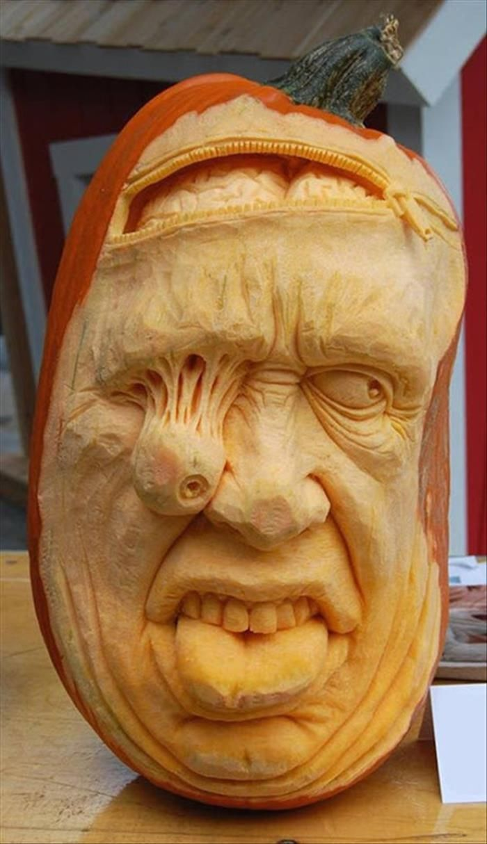 Best Pumpkin Carving Images On Pinterest Creativity Fall - Mind blowing pumpkin carvings by ray villafane 2