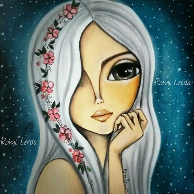 """""""La luz de las estrellas"""" 40 x 40 #romilerdart"""