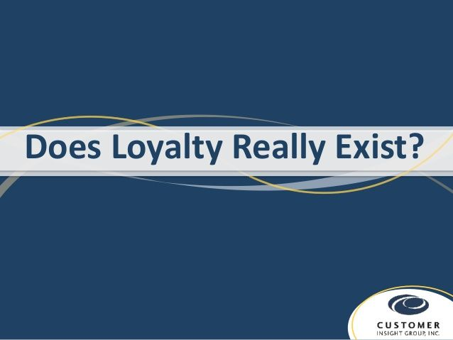 Does Loyalty Really Exist?  Tag: customer loyalty, loyalty marketing, loyalty marketing programs, rewards programs, loyalty programs