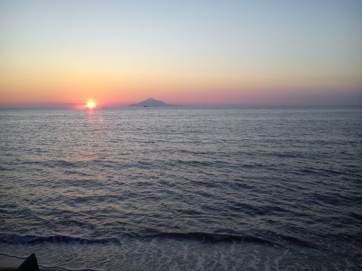 sunset in Myrina, Lemnos. Another perspective.