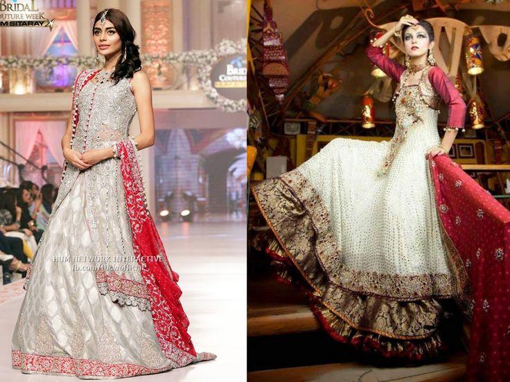 Best Bridal Walima Dresses Designs & Colors 2016-2017   BestStylo.com