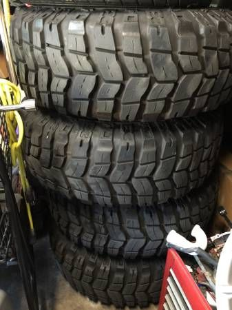 Hi Craigslist have 4 mud terrain tires for sale they have 3500 miles on them need to sale, thier 285/75/16 pro comp xterrain I used them only 3500 miles want to sale them or trade for some bfgoodrich