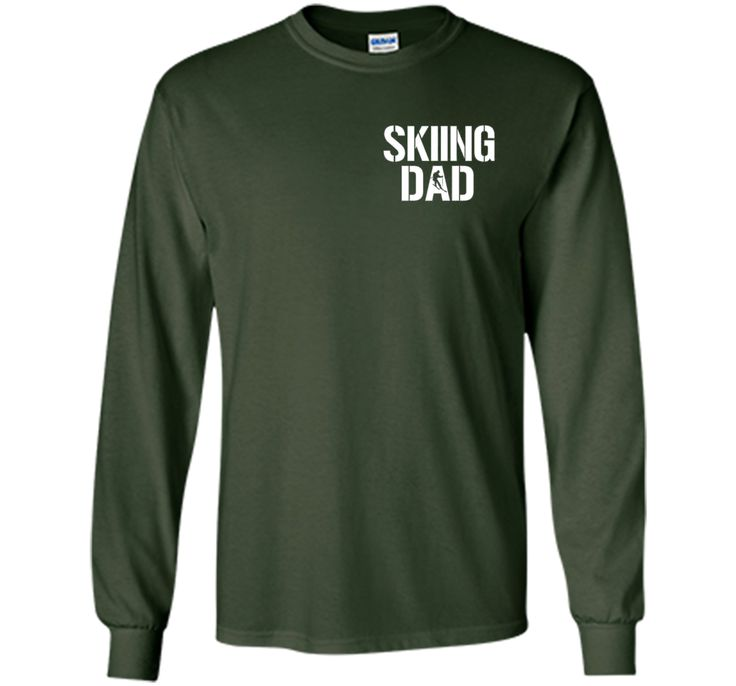 Skiing Dad T-Shirt - Father 's Day Gift- Mother 's Day 2016