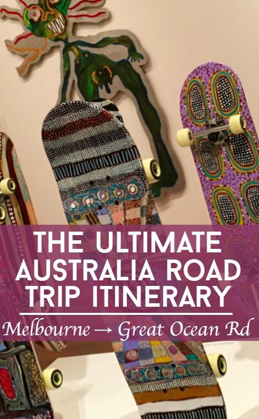 Prepare yourself for the ultimate Australia road trip from Melbourne to the Great Ocean Road and beyond. This Great Ocean Road itinerary takes in landmarks and cultural attractions including indigenous art at the National Gallery Victoria Ian Potter Centre. Plus Australia offers up some amazing travel experiences in the world like hot air ballooning, boomerang throwing, helicopter tours and bush walks.