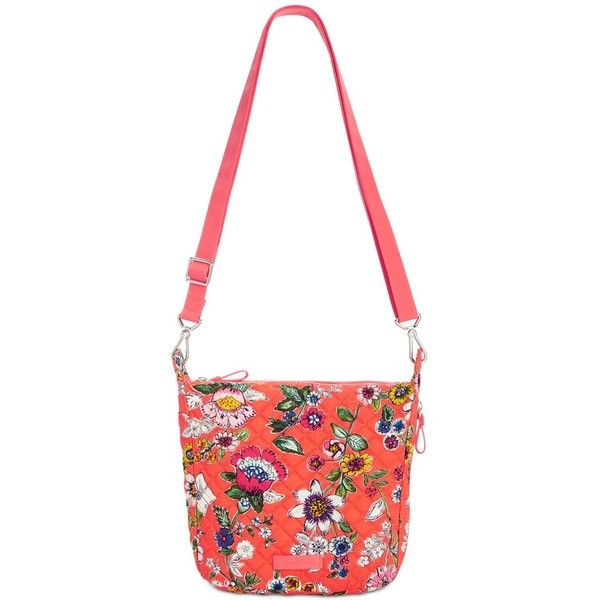 0bcbb62ff6 Vera Bradley Carson Small Hobo Crossbody ( 68) ❤ liked on Polyvore  featuring bags