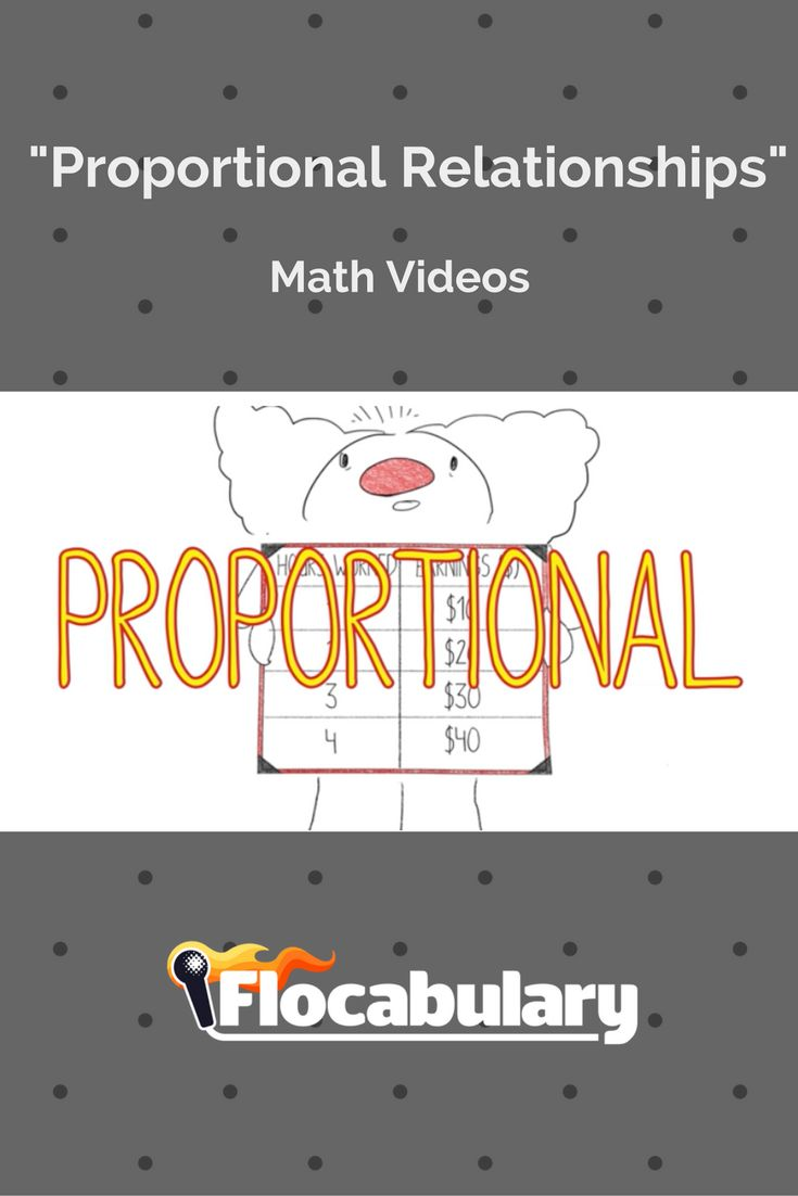 48 best math videos images on pinterest adele curriculum and learn how to recognize and represent proportional relationships with flocabularys educational rap and activities ccuart Choice Image