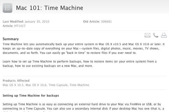 apple time machine