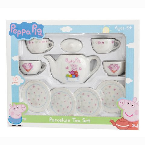Peppa Pig Porcelain Tea Toy Set – Mr Panda's Emporium