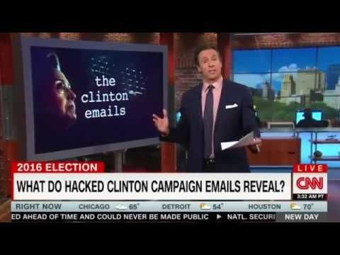 Watch VIDEO: CNN's Chris Cuomo claims it's ILLEGAL for public to view Wikileaks emails | The Geller Report