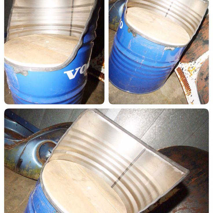 25 beste idee n over vat stoel op pinterest ton vaten en saloondecor - Vat stoel ...