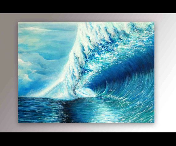 Best 25+ Wave paintings ideas on Pinterest | Watercolor ...