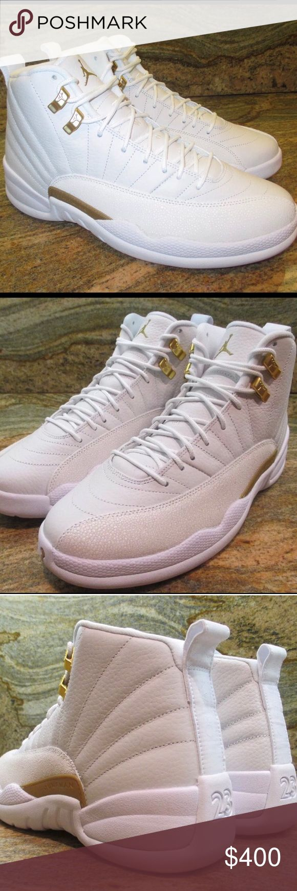 Jordan 12 ovo I don't sell through Poshmark. I ship& accept payment through PayPal or western union. I DONT SELL FAKES OR REPLICAS. I DONT DO TRADES. If serious interested contact me (734) 400-4618 Jordan Shoes Sneakers