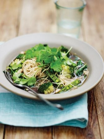 Green dream noodles Jamie Oliver