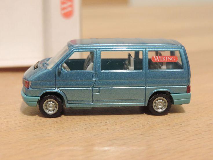 VW T4 Caravelle * 1:87 * Wiking * adriablaumet. * Werbemodell