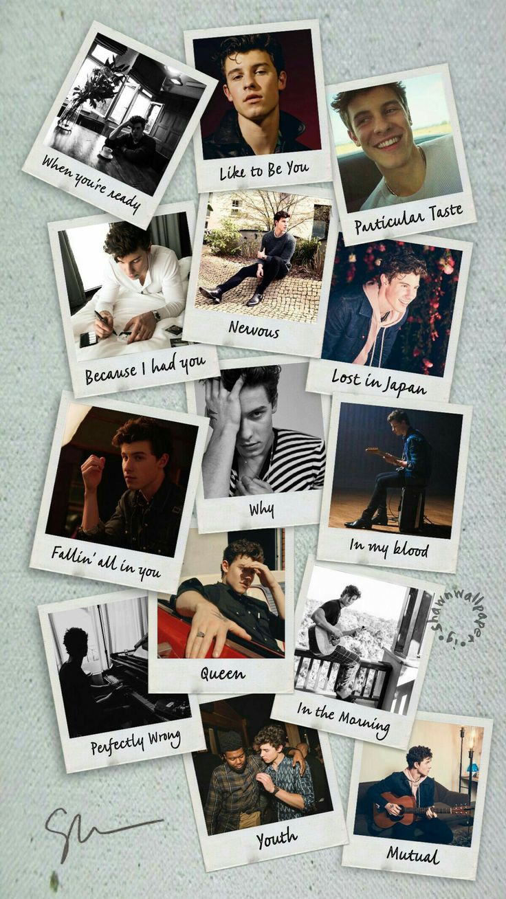 Shawn Mendes the album Shawn mendes wallpaper, Shawn