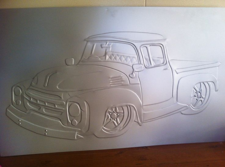 This was a dodge pick up , i pressed out . measure 1200 x 800 mm