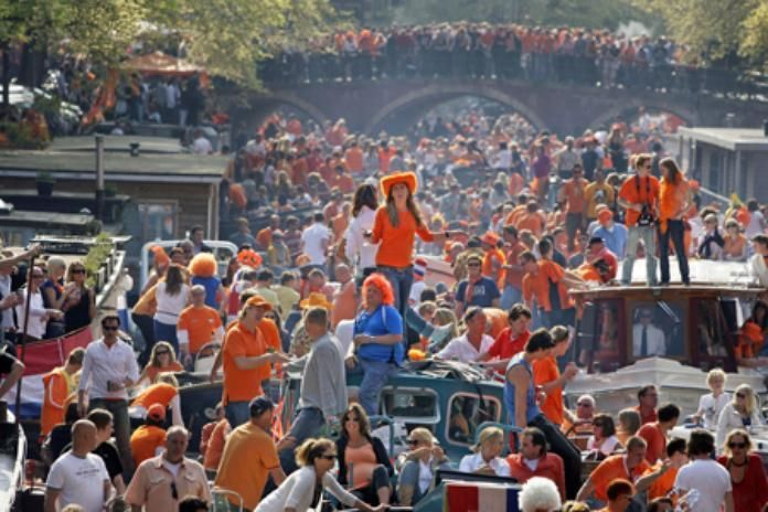 Kingsday in the Netherlands