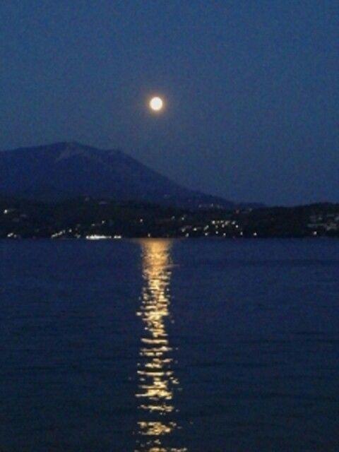 Panselinos blue lake loutraki Greece