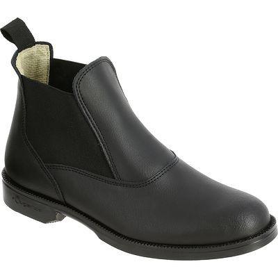 EQUITAÇÃO - calçado Impermeáveis, Chuva - Botins Equitação CLASSIC Preto FOUGANZA - Calçado Impermeável