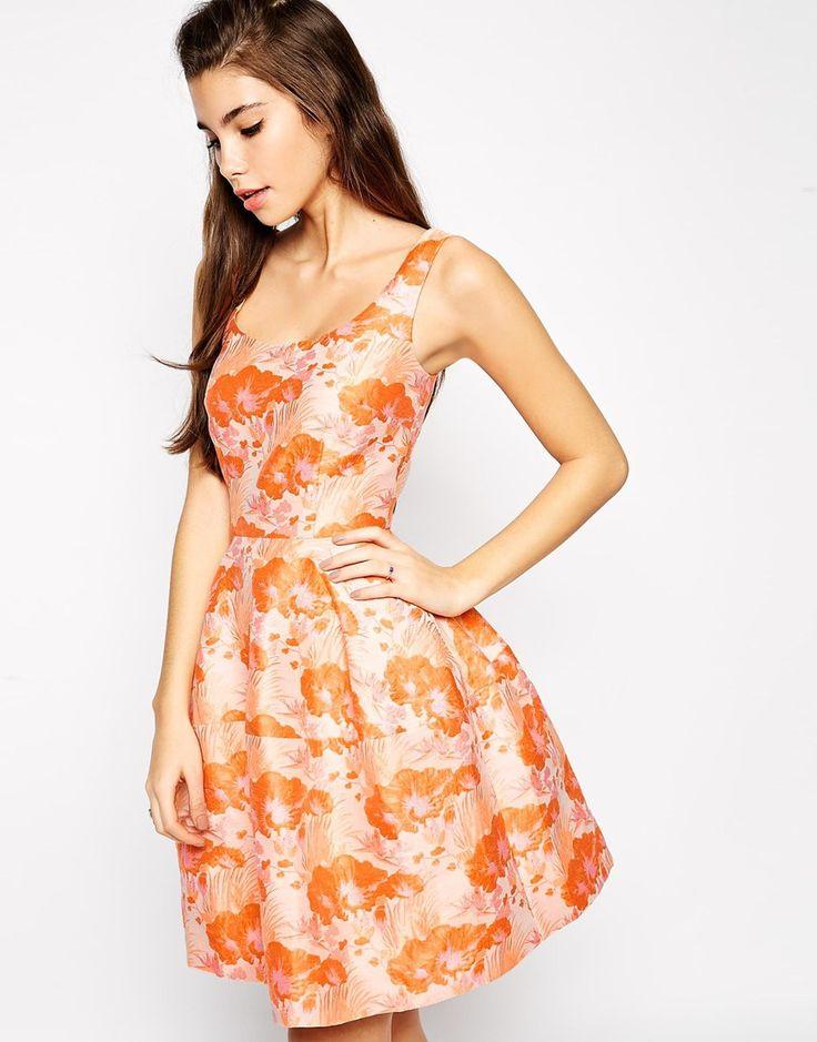 Asos Jaquard Dress With Seam Detail 4 Summer Pinterest