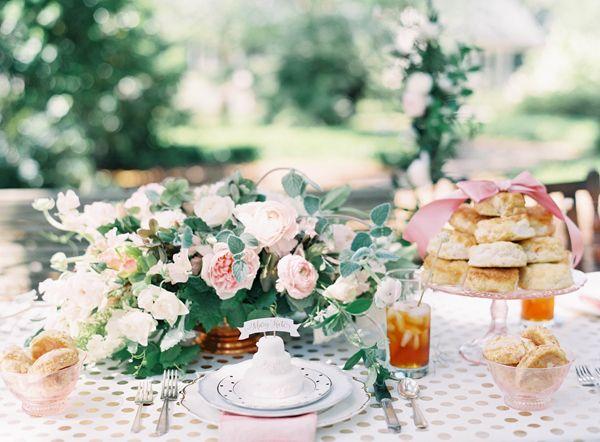 blush + bashful bridal shower | Jen Huang #wedding