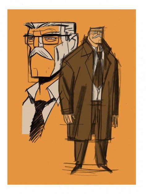 Shane Glines Designs Commissioner Gordon For 'Beware The Batman'