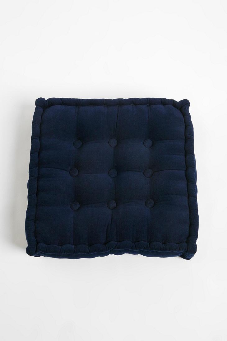 Floor Pillows Tufted : Tufted Corduroy Floor Pillow Floor cushions, Cushions and Catalog