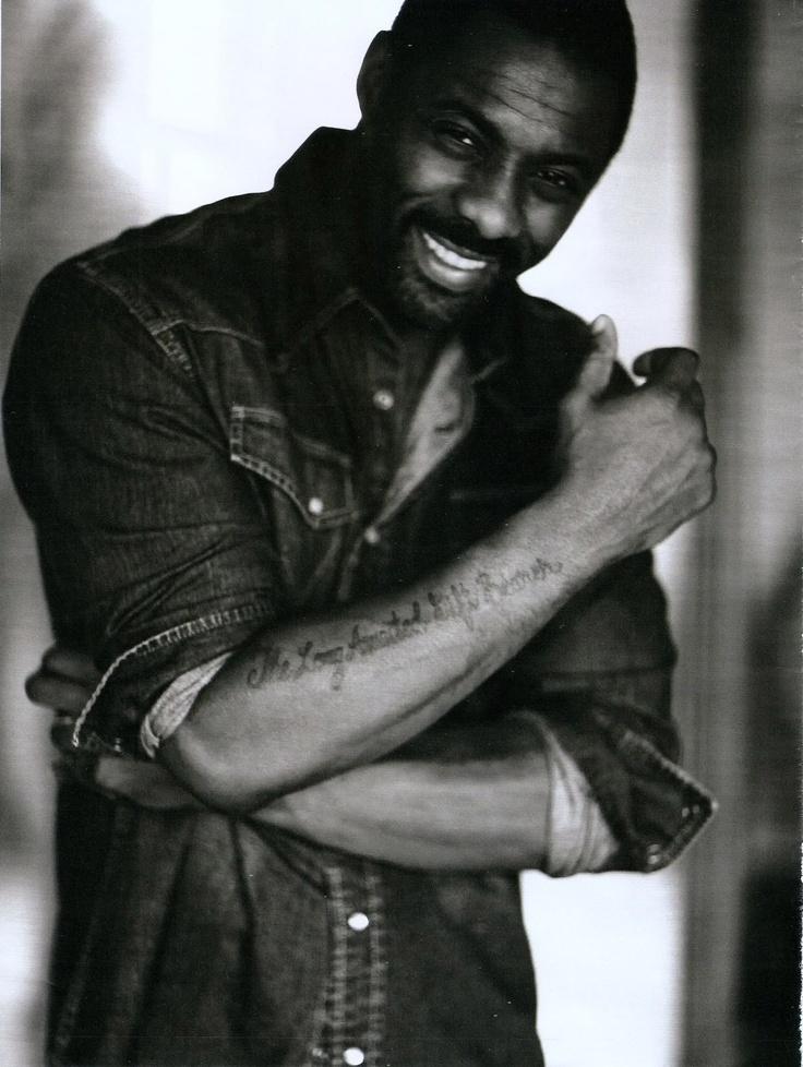 Idris Elba.. whew!