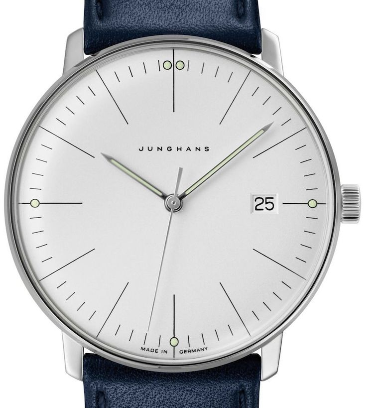 Bauhaus Style: New Junghans Max Bill Watches