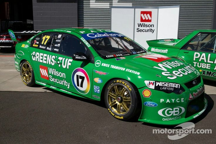 Chaz Mostert, Dale Wood and Dick Johnson unveil there retro livery at Bathurst 1000