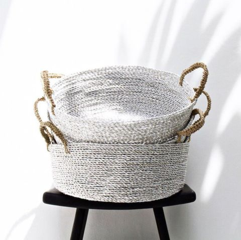 Kim Soo Home Stardust Basket, Silver $45 (https://norsu.com.au/collections/new/products/kim-soo-home-stardust-basket-silver)