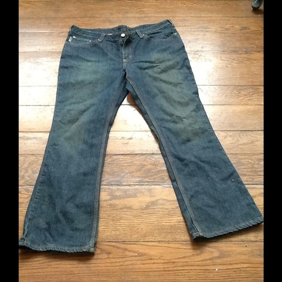 Women's Carhart Jeans Boot cut jeans. Worn once. Size 16. 30 inch inseam. Carhart Jeans Boot Cut