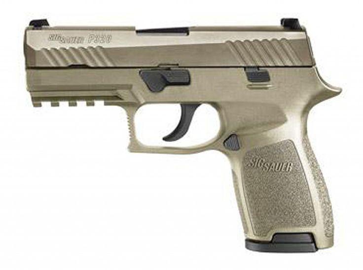 SIG P320 COMPACT 9MM FDE NITRON NS 15RD - Anacortes Gun Shop