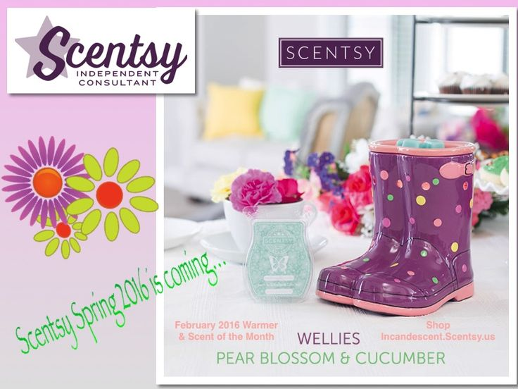 Scentsy February 2016 Warmer & Scent of the Month ...