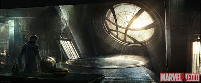 DOCTOR STRANGE: Sanctum Sanctorum Concept Art and Set Photo | DailySuperHero.com
