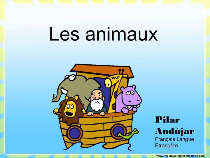 Les animaux en français - animals in French