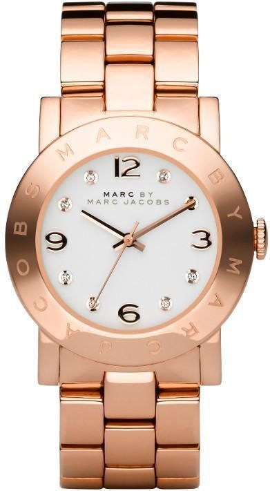 Marc By Marc Jacobs Amy Rose Gold-Tone Ladies Watch Mbm3077