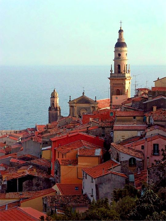 Old Town Menton, French Riviera  By Rita Crane Photography