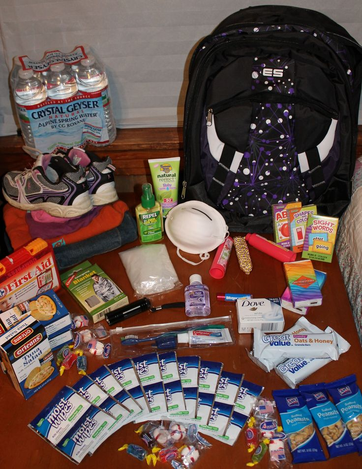 Our new blog post on how to build a children's bug out bag!