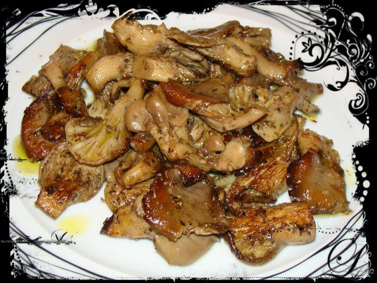 Olga's cuisine...και καλή σας όρεξη!!!: Μανιτάρια ψητά με σκόρδο και μπαλσάμικο