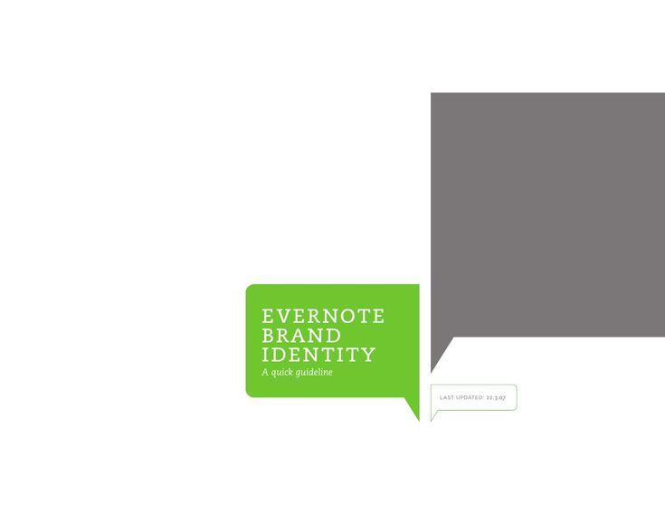 Evernote Brand Identity