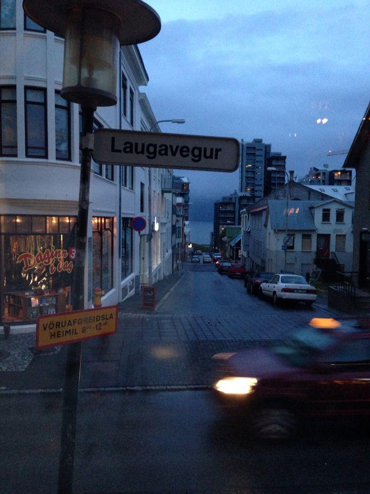 1 'o'clock in the morning in Reykjavik.