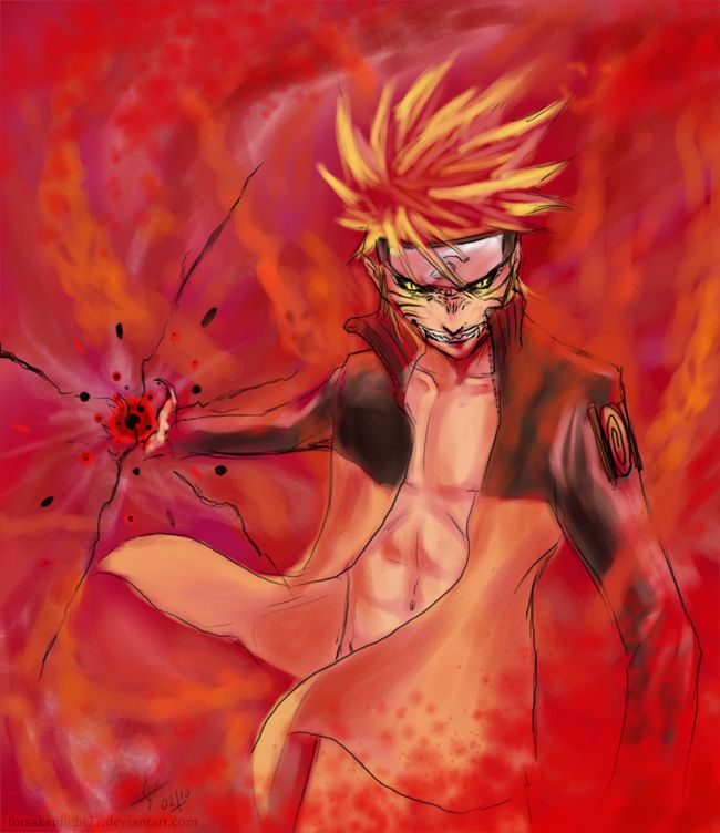 Evil naruto by forsakenlight77 on DeviantArt | Naruto ...