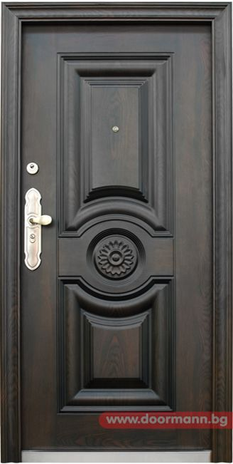 Блиндирана входна врата - Код 539