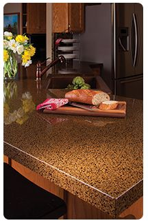 Recycled Glass Counter Top From Granite Transformations